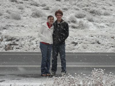 Pictures in the snow in Colorado