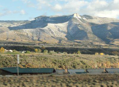 Colorado scenery on I-70