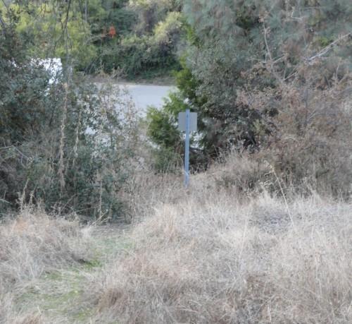 'Park' entrance in Auburn, CA